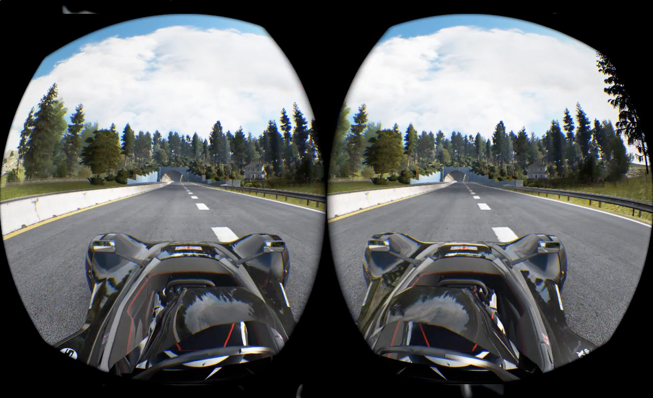 Project Cars  Oculus